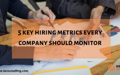 5 Key Hiring Metrics Every Company Should Monitor