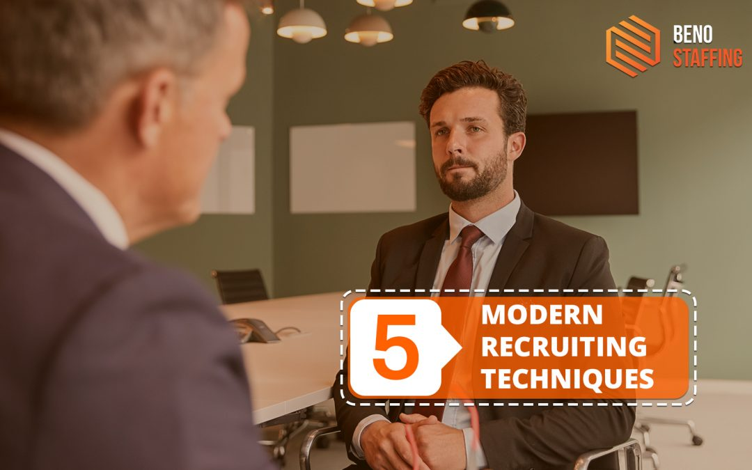 5 Modern Recruiting Techniques You Should be Using in 2020